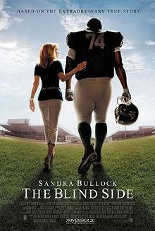 american football films - the blind side