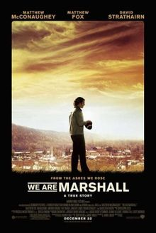 American football films - We are marshall