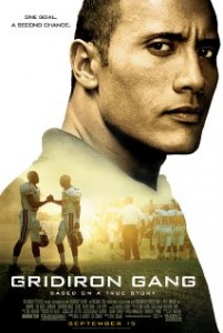 american football films - Gridiron Gang