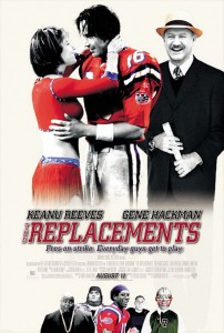 American football films - The replacements