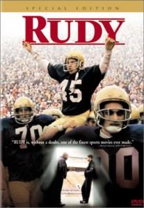 american football films - Rudy
