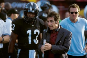 American football films - Any given sunday