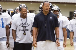 dwayne and xzibit great cast in this american football film