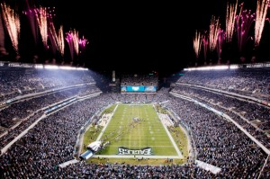 best nfl stadiums-Lincoln financial Field