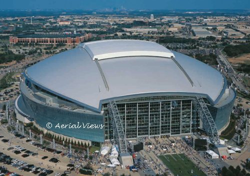 dallas cowboy stadium construction The history and tradition of texas stadium was the biggest single influencer in the design of our new stadium, stated jerry jones, owner of the dallas cowboys.