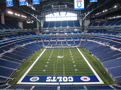 Best nfl stadiums top 10 countdown for Terrace end zone lucas oil stadium