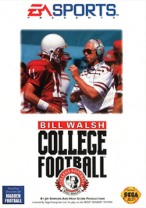 American football games - Bill Walsh College Football