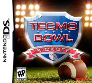 Tecmo bowl - Kick off - American football games