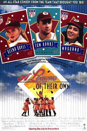 best baseball movies - a league of their own