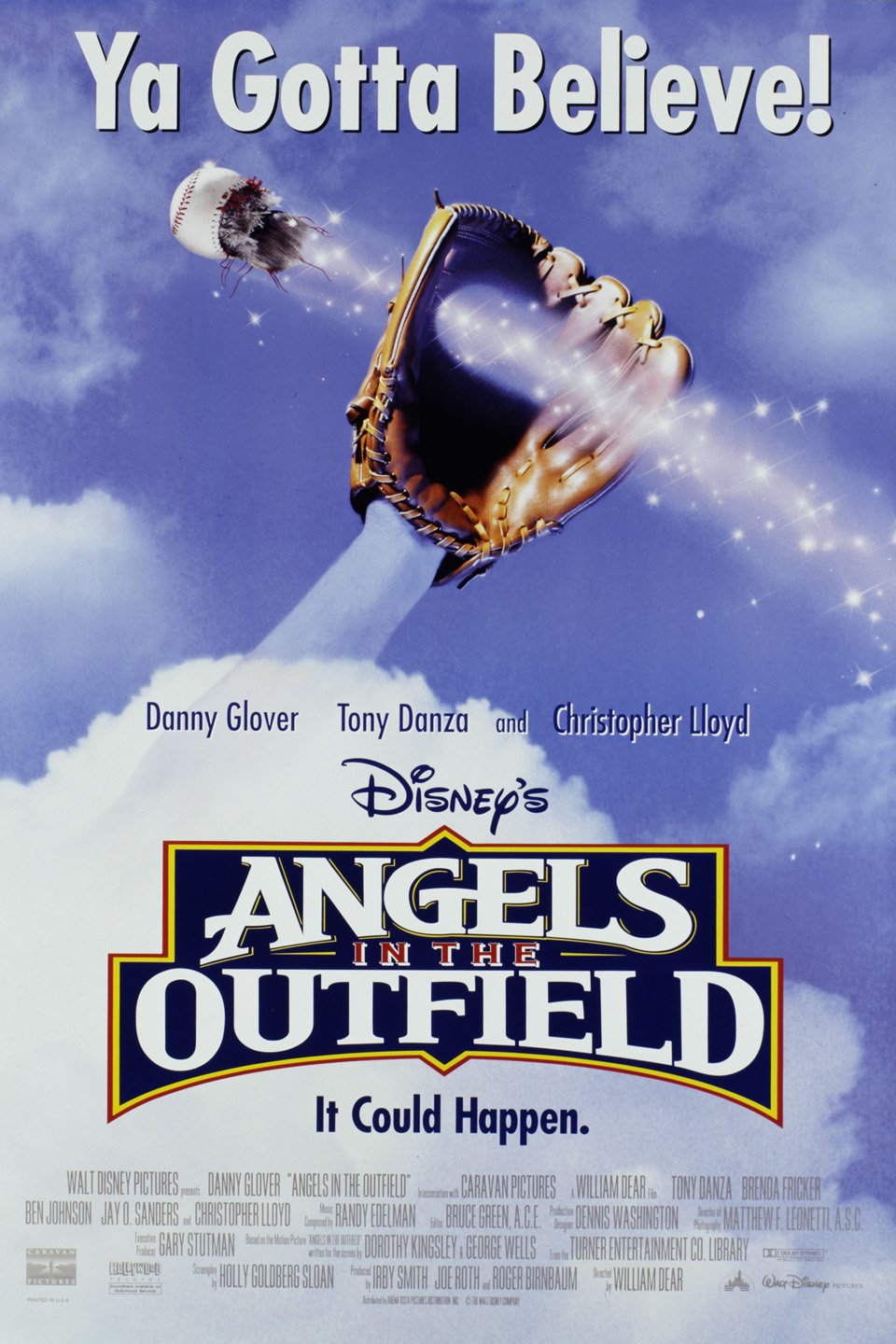 best baseball movies - angeles in the outfield