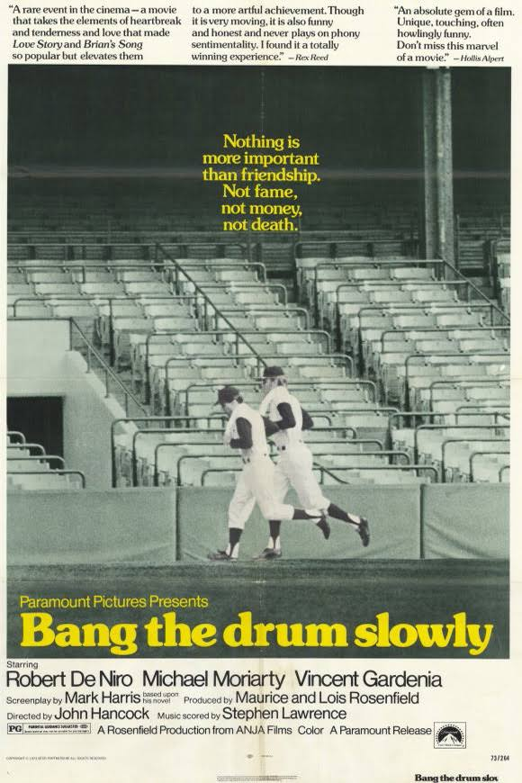 best baseball movies - bang the drum slow
