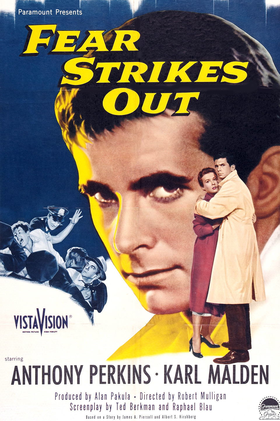 best baseball movies - fear strikes out
